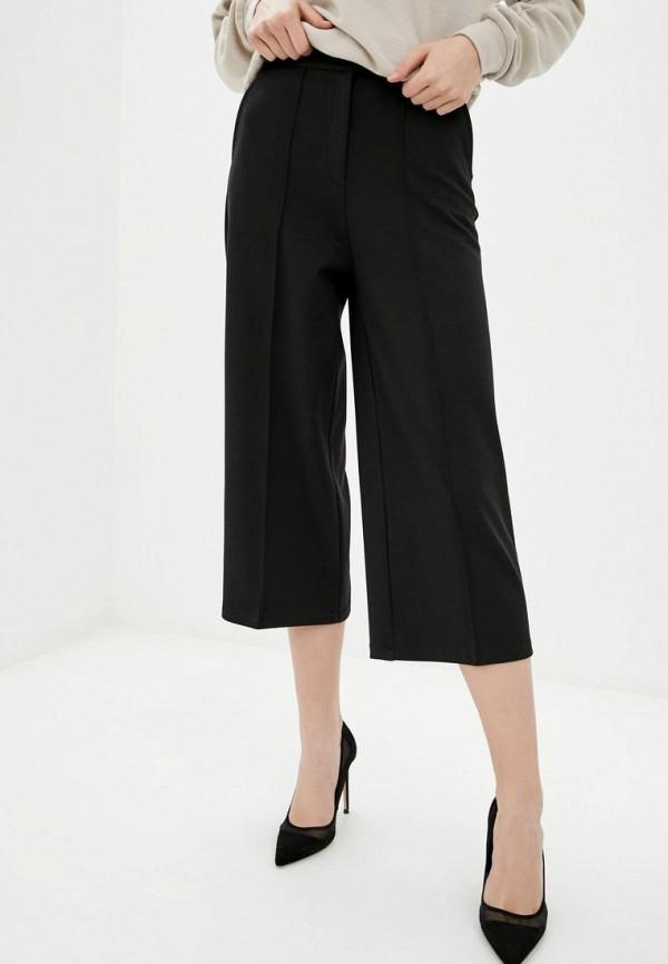 женские брюки клеш zubrytskaya, черные