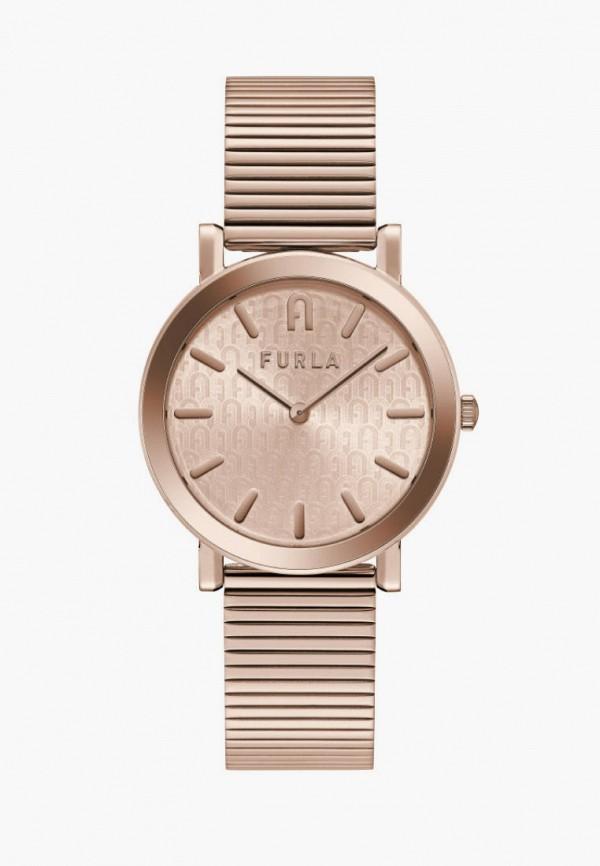 женские часы furla, розовые