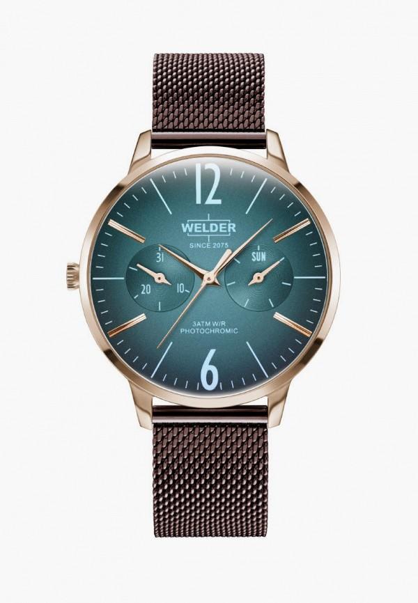 женские часы welder, коричневые