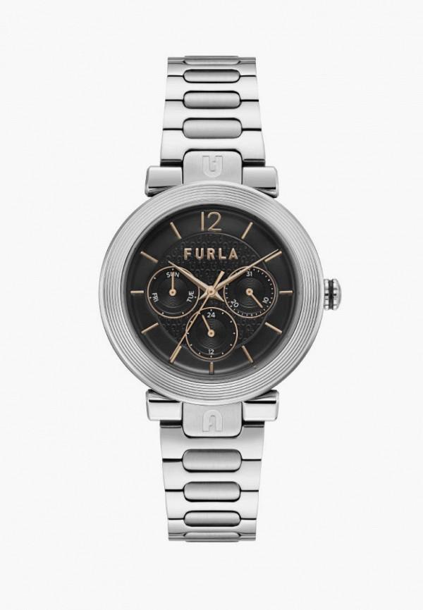 женские часы furla, серебряные