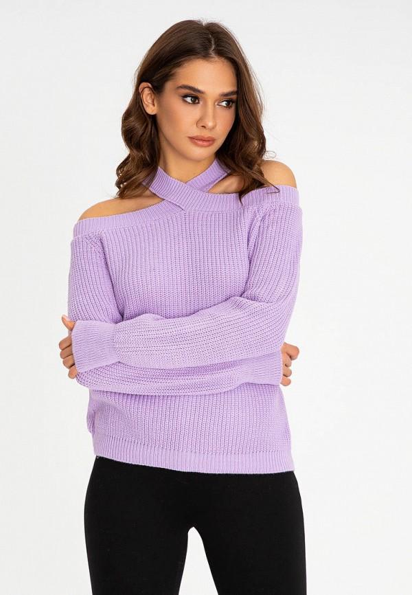 женский джемпер itelle, фиолетовый