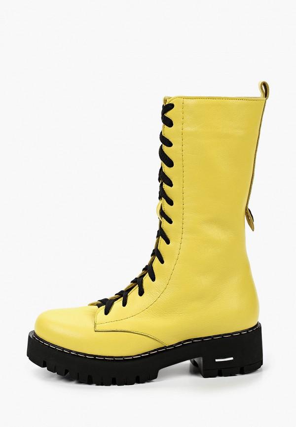 женские сапоги pauli, желтые