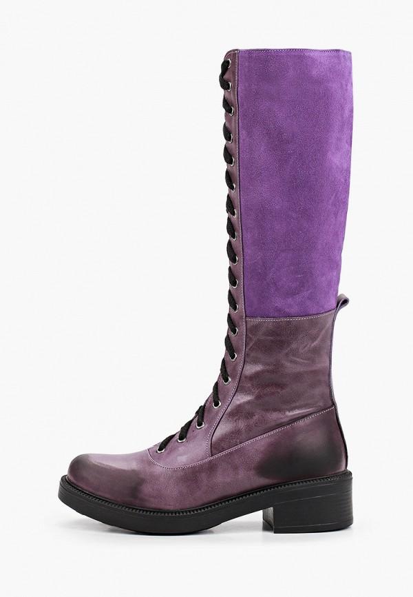 женские сапоги pauli, фиолетовые