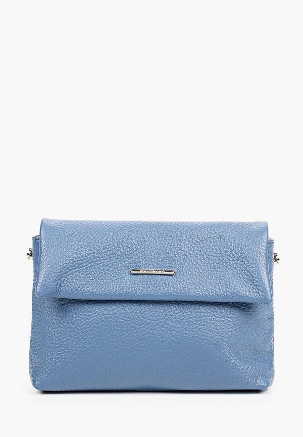 женская сумка через плечо fiato, синяя