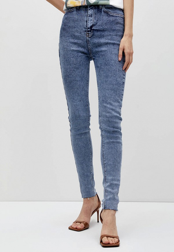 женские джинсы скинни lime, синие