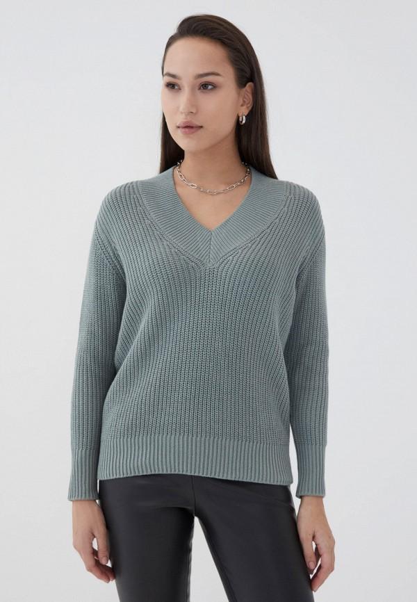 женский пуловер zarina, зеленый