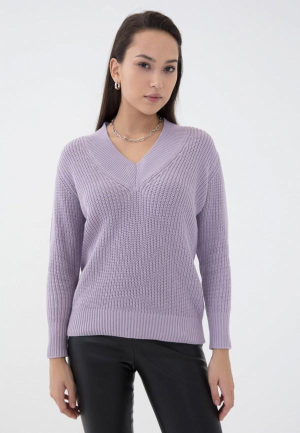 женский пуловер zarina, фиолетовый