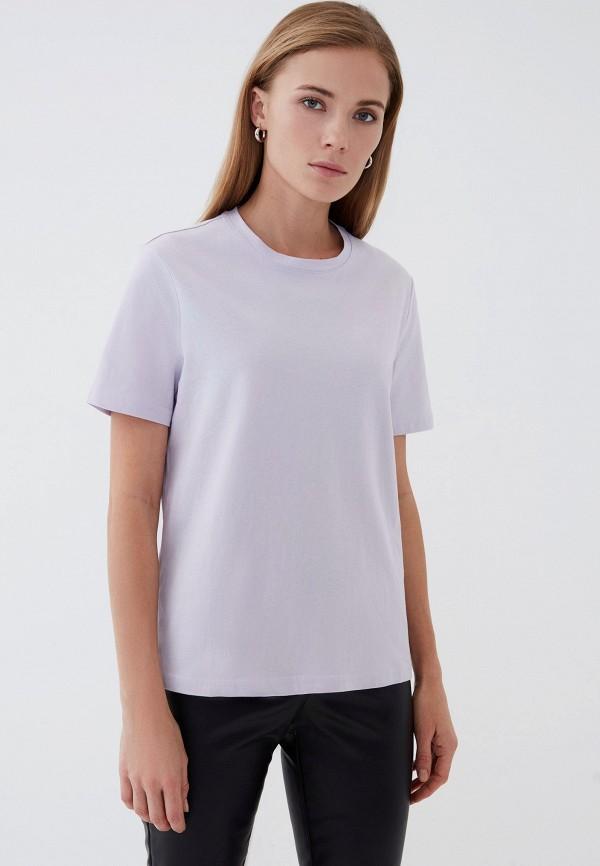женская футболка zarina, фиолетовая