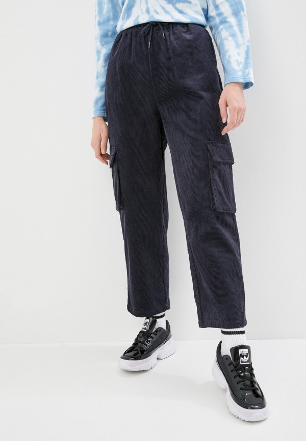 женские брюки карго sela, синие