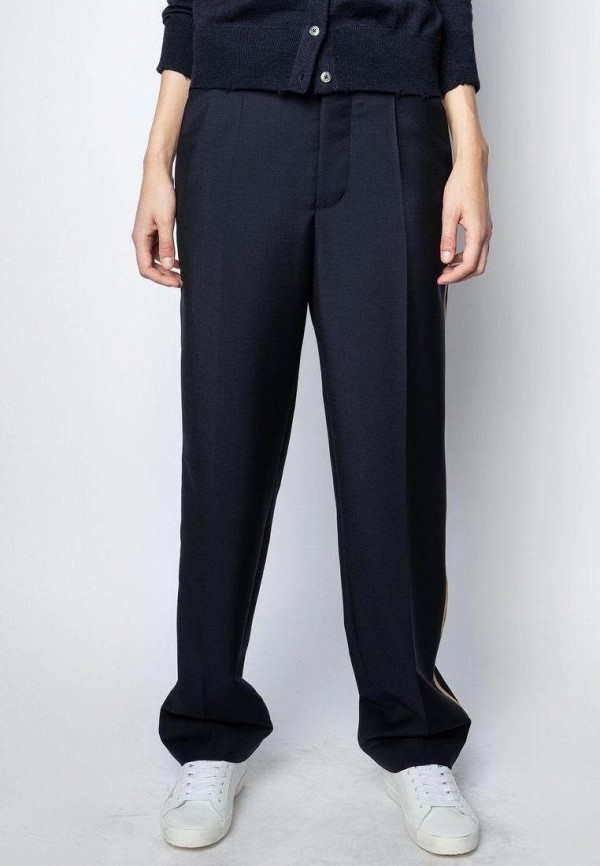 женские классические брюки zadig & voltaire, синие