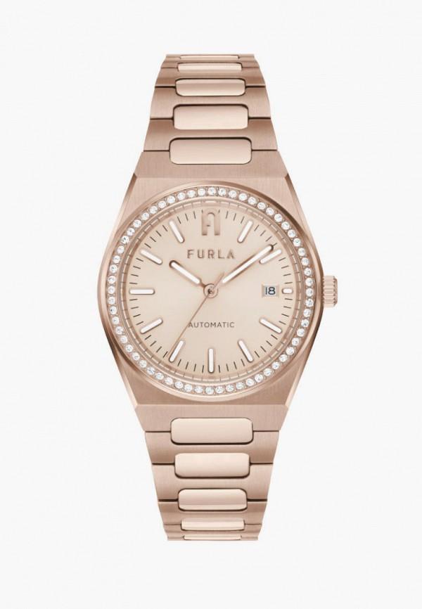 женские часы furla, золотые