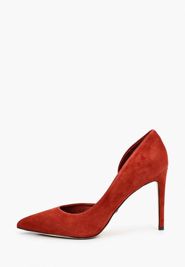 женские туфли-лодочки alla pugachova, коричневые