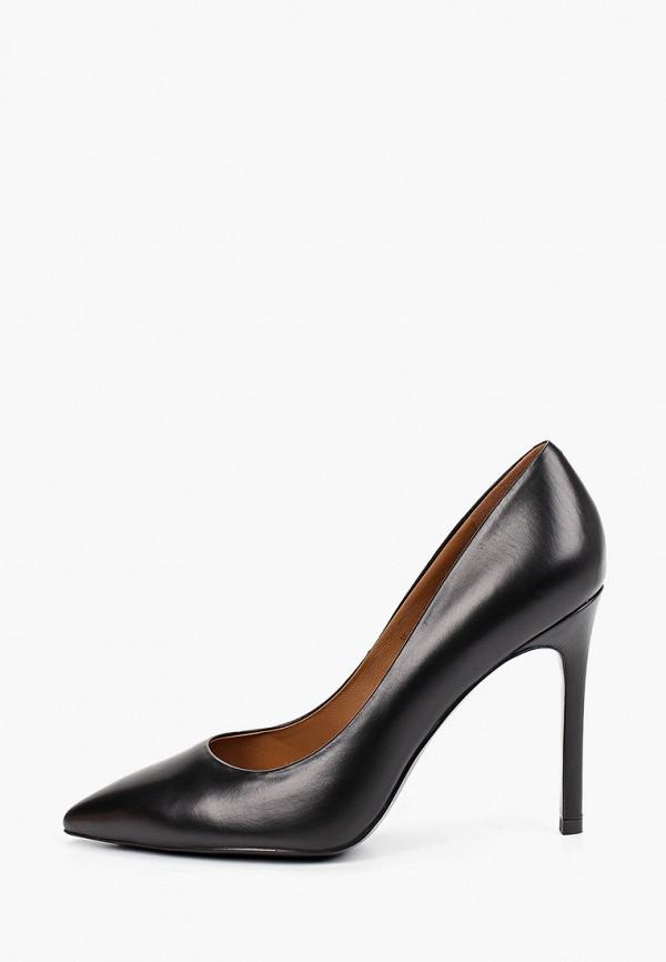 женские туфли-лодочки эконика, черные