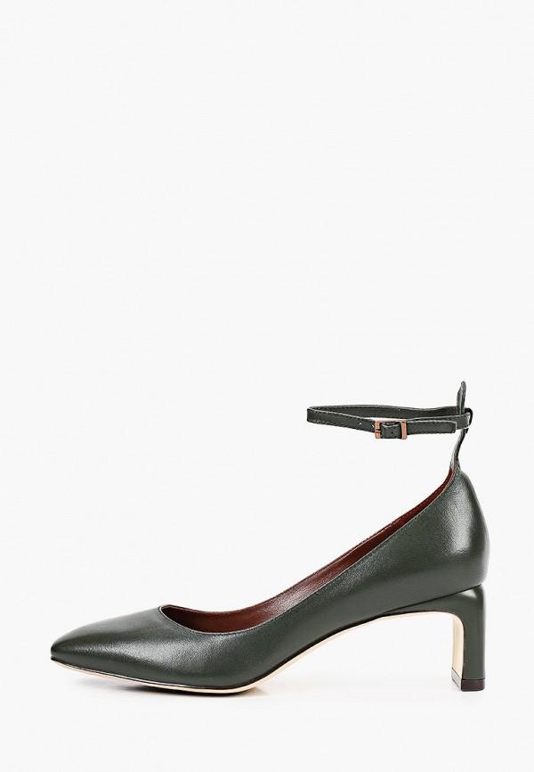 женские туфли alla pugachova, зеленые