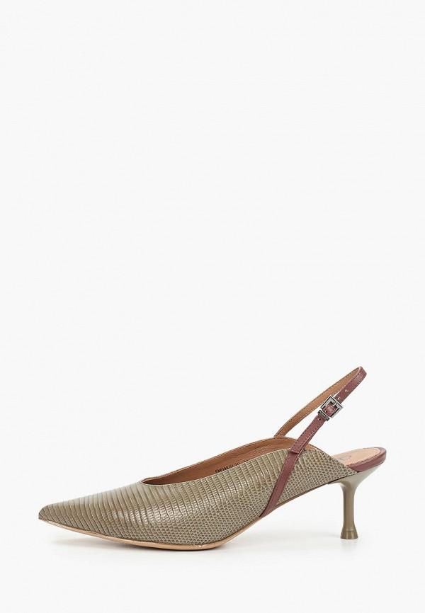 женские туфли эконика, зеленые