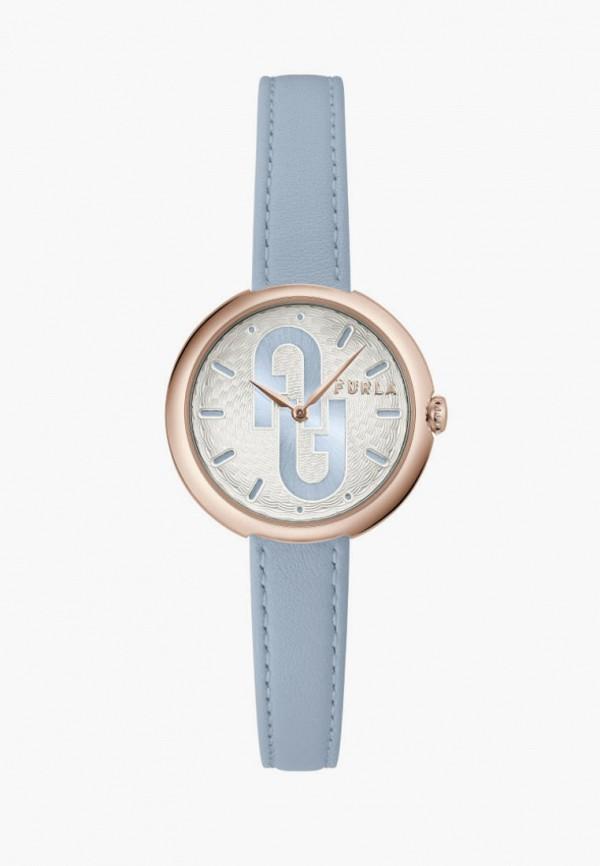 женские часы furla, голубые