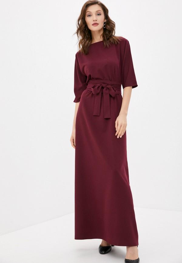 женское вечерние платье emansipe, бордовое