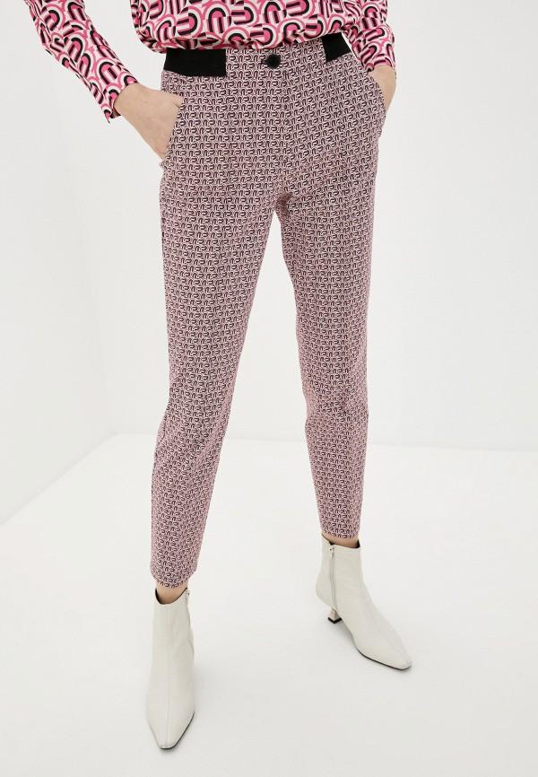 женские повседневные брюки gerry weber, розовые