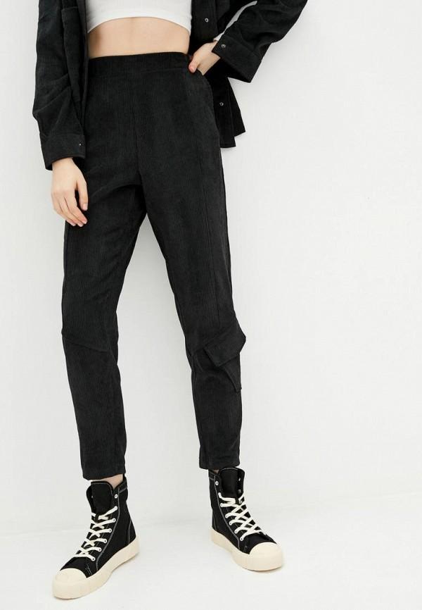 женские зауженные брюки garne, черные