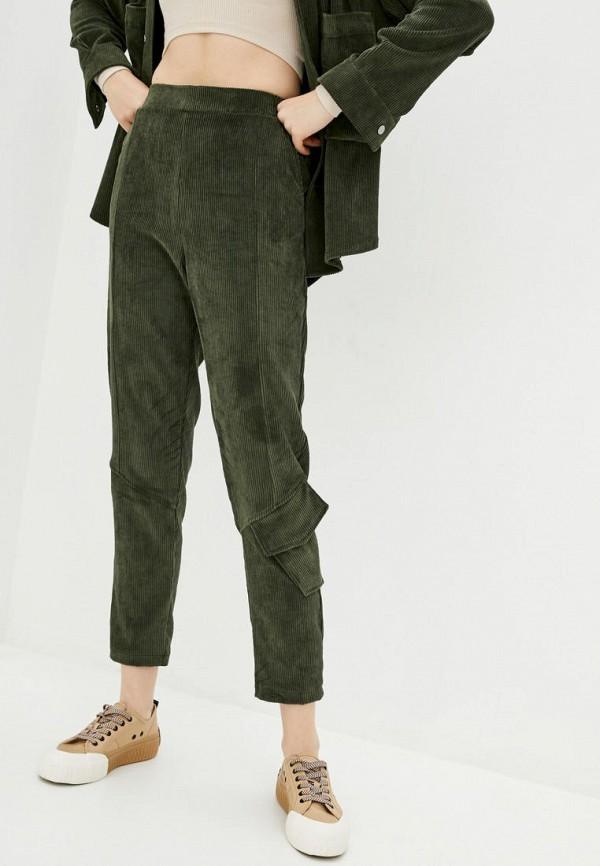 женские зауженные брюки garne, хаки