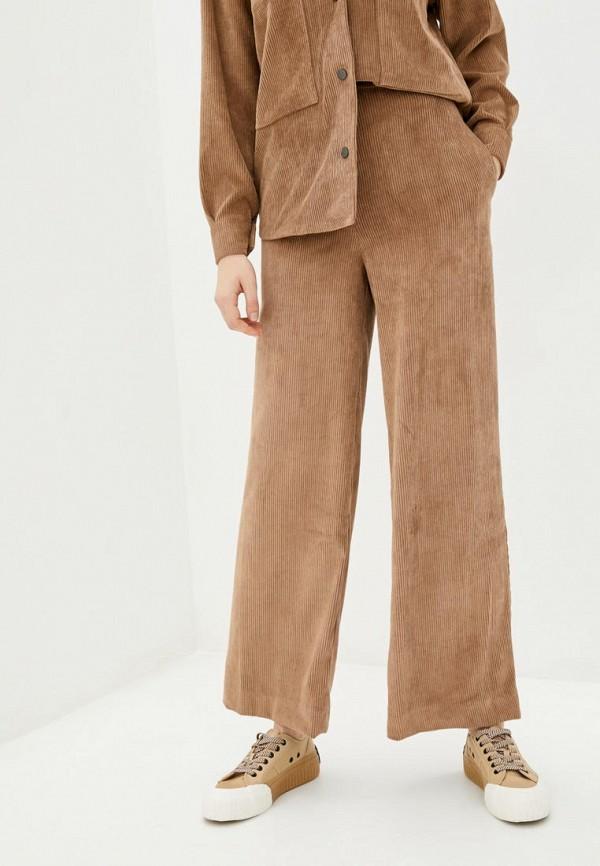 женские брюки клеш garne, бежевые