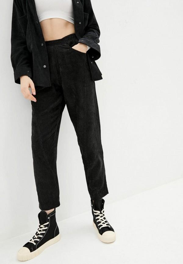 женские прямые брюки garne, черные