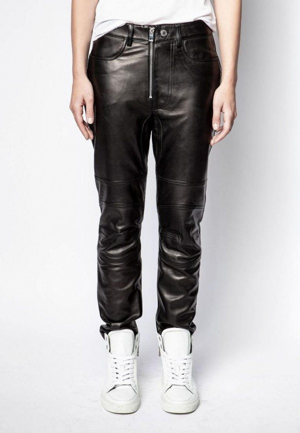 женские классические брюки zadig & voltaire, черные
