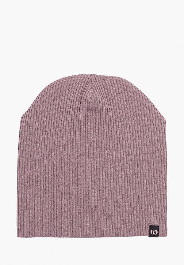 женская шапка coompol, коричневая