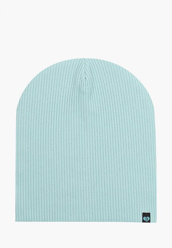 женская шапка coompol, бирюзовая