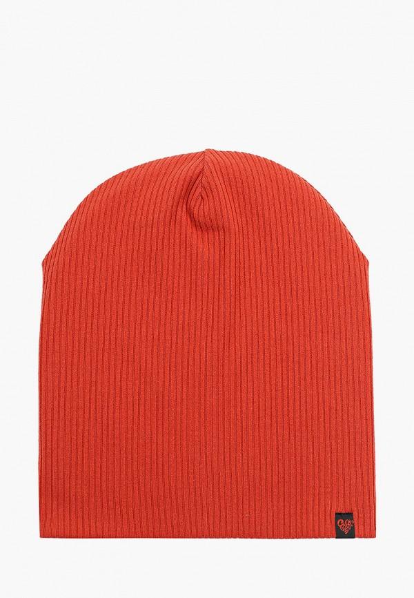женская шапка coompol, оранжевая