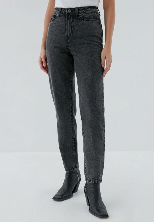 женские джинсы-мом zarina, серые
