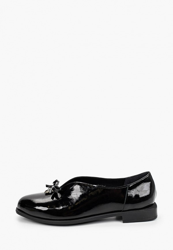 женские туфли с закрытым носом pierre cardin, черные
