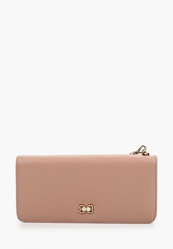 женский кошелёк mascotte, розовый