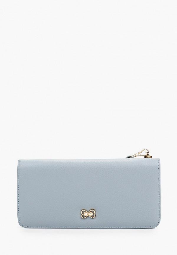 женский кошелёк mascotte, голубой