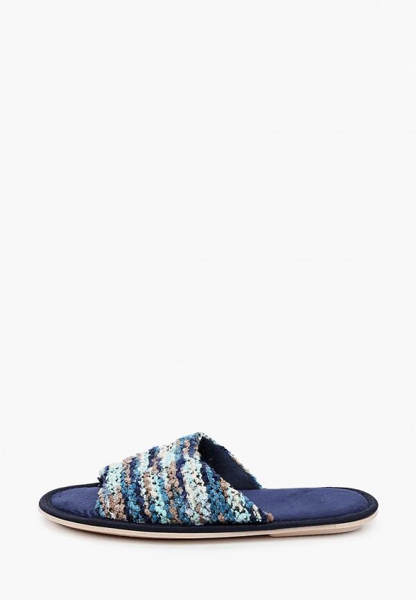 женские тапочки evart, синие