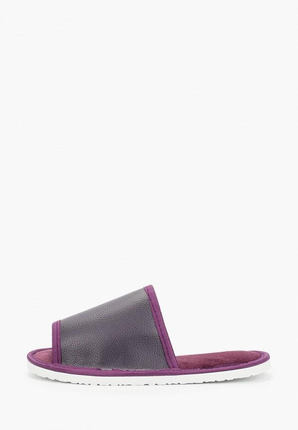 женские тапочки evart, фиолетовые