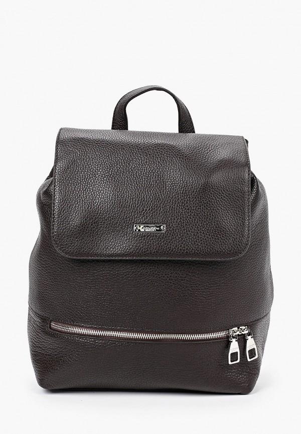 женский рюкзак alessandro birutti, коричневый