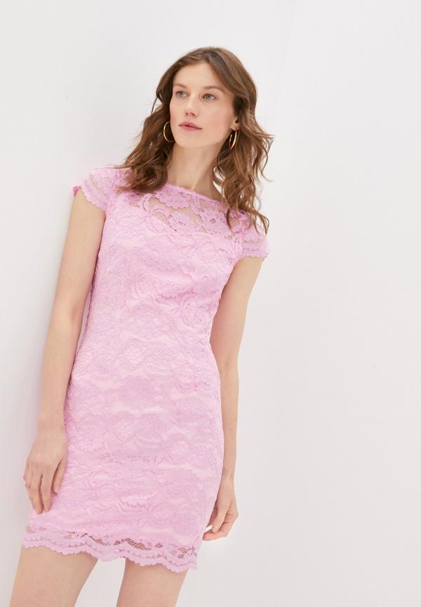 женское вечерние платье rodionov, розовое