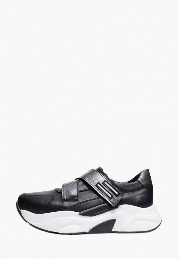 женские кроссовки polin, черные