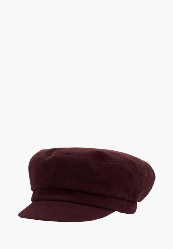 женская кепка plange, бордовая