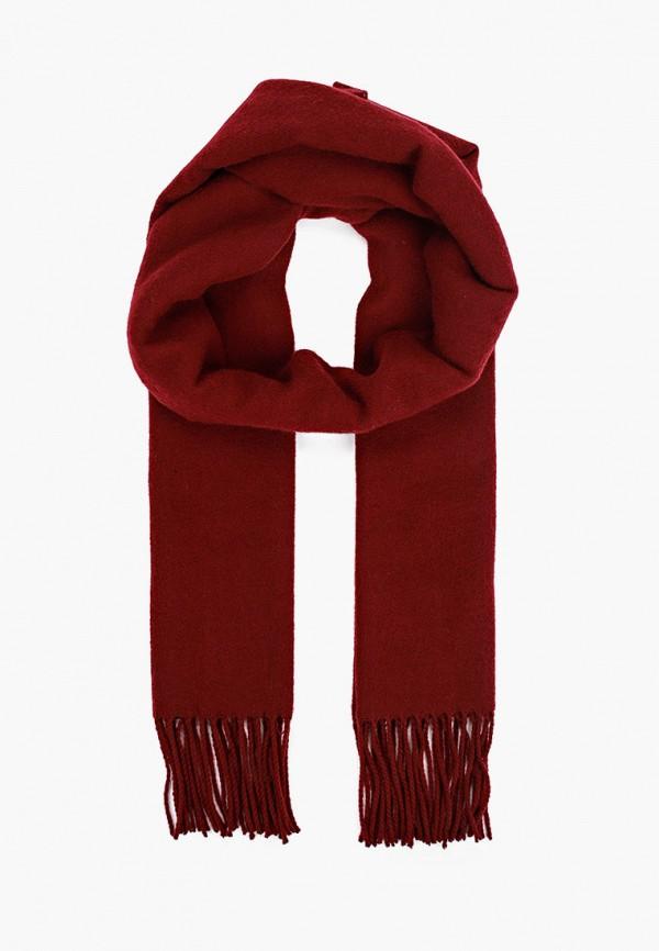 женский шарф topshop, бордовый