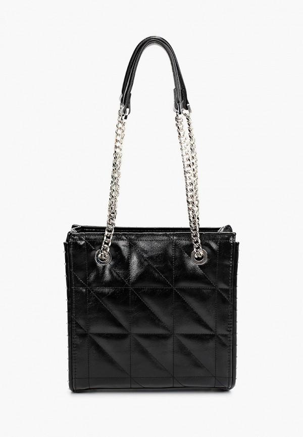 женская сумка с ручками topshop, черная