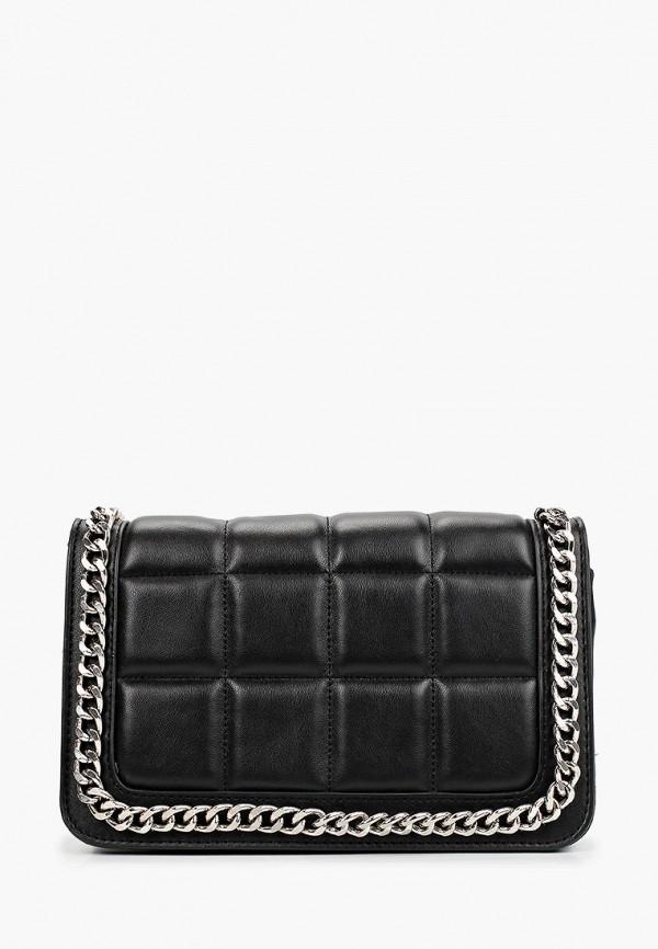 женская сумка через плечо topshop, черная