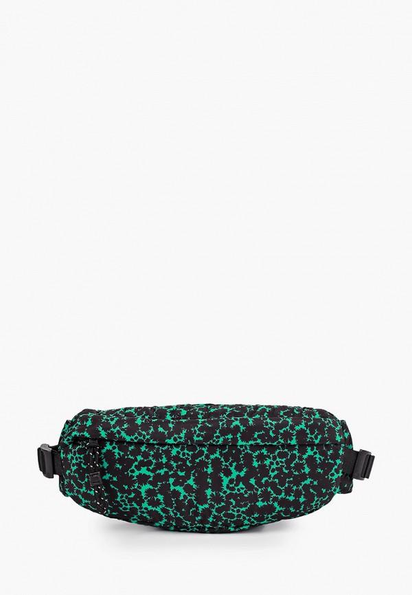 женская поясные сумка topshop, зеленая
