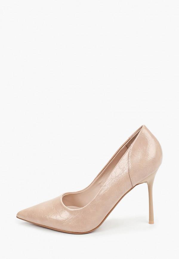 женские туфли-лодочки topshop, бежевые