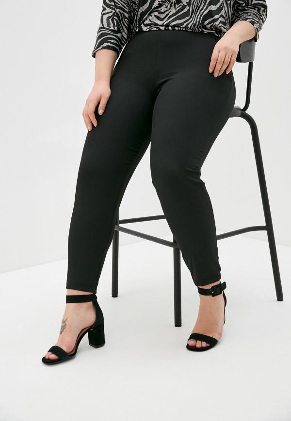женские зауженные брюки mark formelle, черные