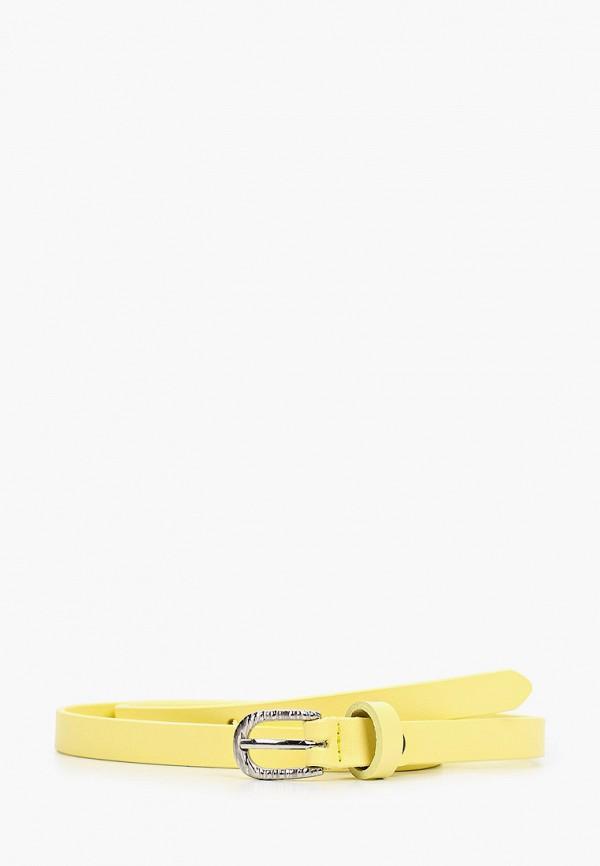 женский ремень mascotte, желтый