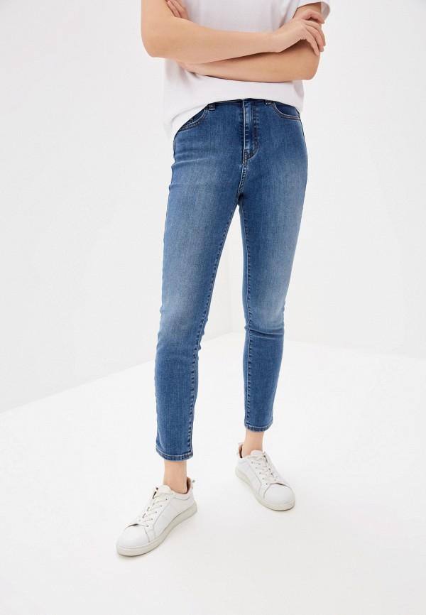 женские джинсы скинни boss, голубые