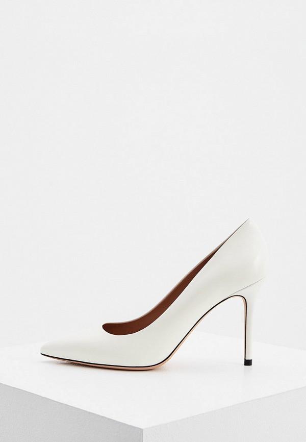 женские туфли-лодочки boss, белые