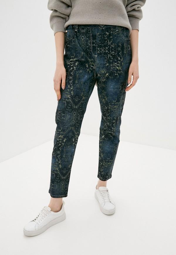 женские прямые джинсы franco vello, синие